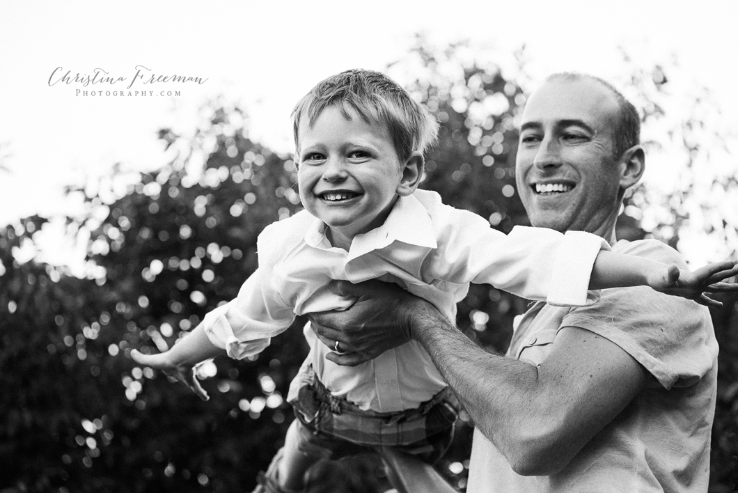 Pure joy by Anna TX and Collin County family photographer Christina Freeman Photography